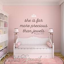 far more precious than jewels bible verse removable wall quote