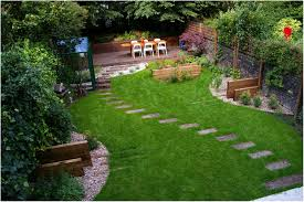 backyards gorgeous landscape sloped backyard design ideas my