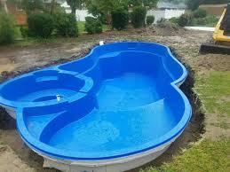 prefabricated pools inground pools virginia east coast leisure pool companies
