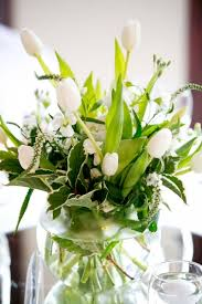 Display Vase Décor Hire Category Flowers Image White Flower Display In