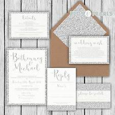 cheap wedding invitations packs wedding invitation sets ebay