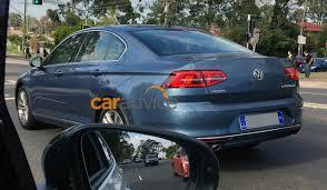 volkswagen passat rear india bound 2016 vw passat spied ahead of launch australia