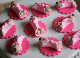 whimsical baby shower fondant toppers perfect for