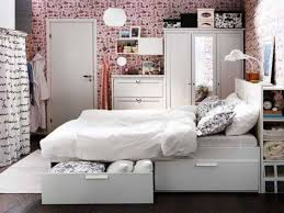 Storage Ideas For Small Bedrooms by Bedroom Bed With Lots Of Storage Guest Bedroom Storage Ideas