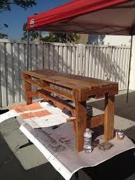 Diy Pallet Bench Instructions Diy Outdoor Pallet Bench Pallet Furniture Plans