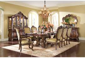 providing luxury classic style on spacious dining room design