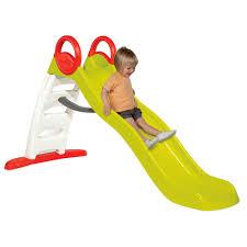 smoby 7ft wavy water slide outdoor kids garden play slide ebay