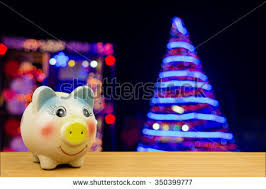 christmas piggy bank stock images royalty free images u0026 vectors