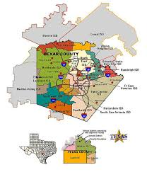 isd map bexar county school districts