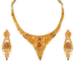 light weight gold necklace designs buy orra gold set necklace for women online best bridal sets