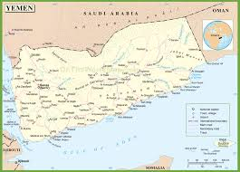 France Map With Cities by Yemen Maps Maps Of Yemen