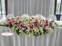 christmas table flower arrangement ideas flower arrangements for wedding reception tables wedding ideas