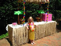 our sweet love story emma u0027s 5th birthday hawaiian style