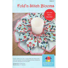 fold u0027n stitch blooms pattern brooklyn fabric company