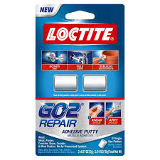 Wall Putty by Loctite 0 34 Oz Go2 Repair Putty 2 Pack 1722005 The Home Depot