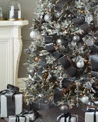 shimmering metallic christmas tree ribbon balsam hill