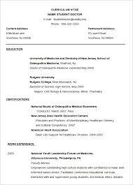 Resume Sample For Doctors by Microsoft Word Resume Template U2013 99 Free Samples Examples