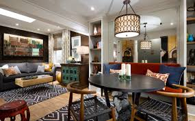 candice olson design a living room and dining room combo that