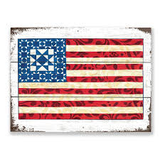 jim shore god bless america wood pallet sign clearance