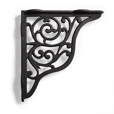 black metal shelf brackets how to float a metal shelf brackets