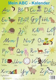 Poster Kinderzimmer Mein Abc Poster Das Abc Grundschul Abc