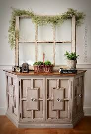 sold vintage console cabinet entry table center hall table