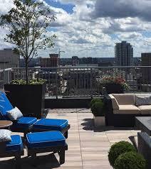 pedestal supported rooftop decks