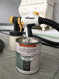 how to apply valspar cabinet paint paint sprayer turned a dreaded project into the best