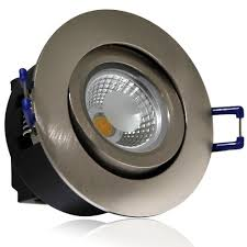 commercial led can lights 5w directional cob led recessed lighting fixture silver torchstar