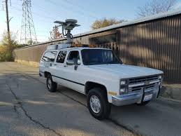 87 chevy v20 suburban 5 7l 4x4 radio repeater low mile west coast