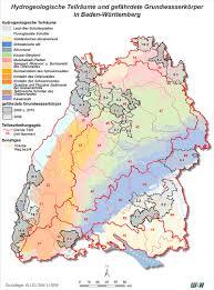 Baden Wuttemberg Karte Gefährdete Grundwasserkörper