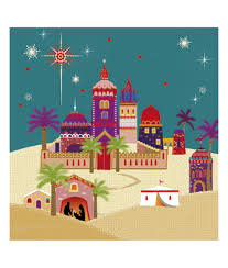 beautiful bethlehem christmas card pack of 10 cancer research