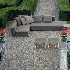 canapé d angle de jardin canapé d angle 6 places dandy jardinchic