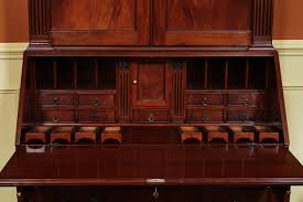 Secretary Office Desk by Antique Style Secretary Desk Colonial Secretary Desk