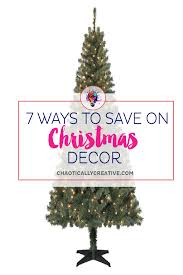 7 ways to save on christmas decor chaotically creative