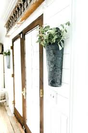 home decor shops near me galvanized metal wall pocket wall vase sconce absolutely smart metal