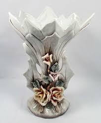 Capodimonte Vases Antique Large Vintage Capodimonte Vase Made In Italy A