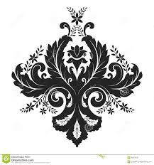 damask ornament stock illustration image 42070121