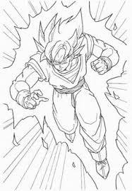 drawing goku super saiyan dragonball tutorial step 03
