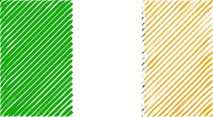 Irrland Flag Clipart Ireland Flag Linear