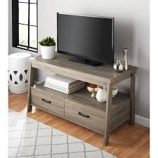 Tv Tables For Flat Screens Amazon Com Mainstays Logan Tv Stand For Flat Screen Tvs Up To 47