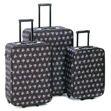 amazon com stylish skull luggage set home u0026 kitchen