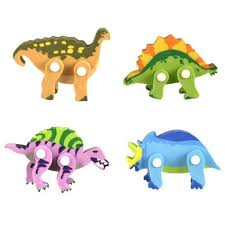 Set Of 4 Dinosaur Erasers Set Of 4 Erasers Unique Gifts Gear Home