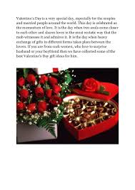 best valentines gift for him 30 best s day gift ideas for him