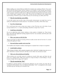 How To Make A Scannable Resume Resume Scanner Haadyaooverbayresort Com
