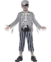 ghost ship pirate boy halloween fancy dress kids horror childs
