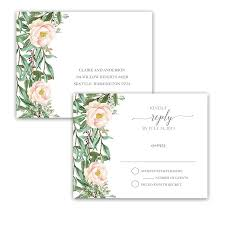 Invitations With Response Cards Rsvp Postcards Archives Noted Occasions Unique And Custom