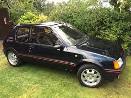 peugeot used car event used 1990 peugeot 205 gti for sale in cumbria pistonheads