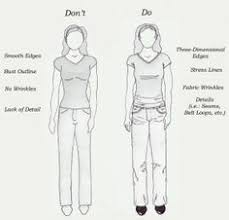 how to sketch clothes this is a sketch after doing the basic
