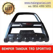 All New Pajero Sport List Kap Mobil Depan Molding Chrome cutting stiker mobil toyota sport trd sportivo stiker 60x5cm car